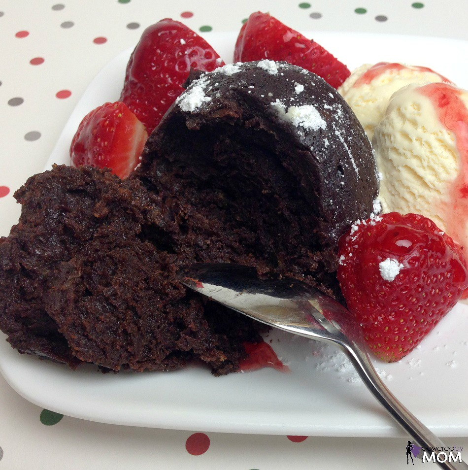 Chocolate Mug Cake square 2