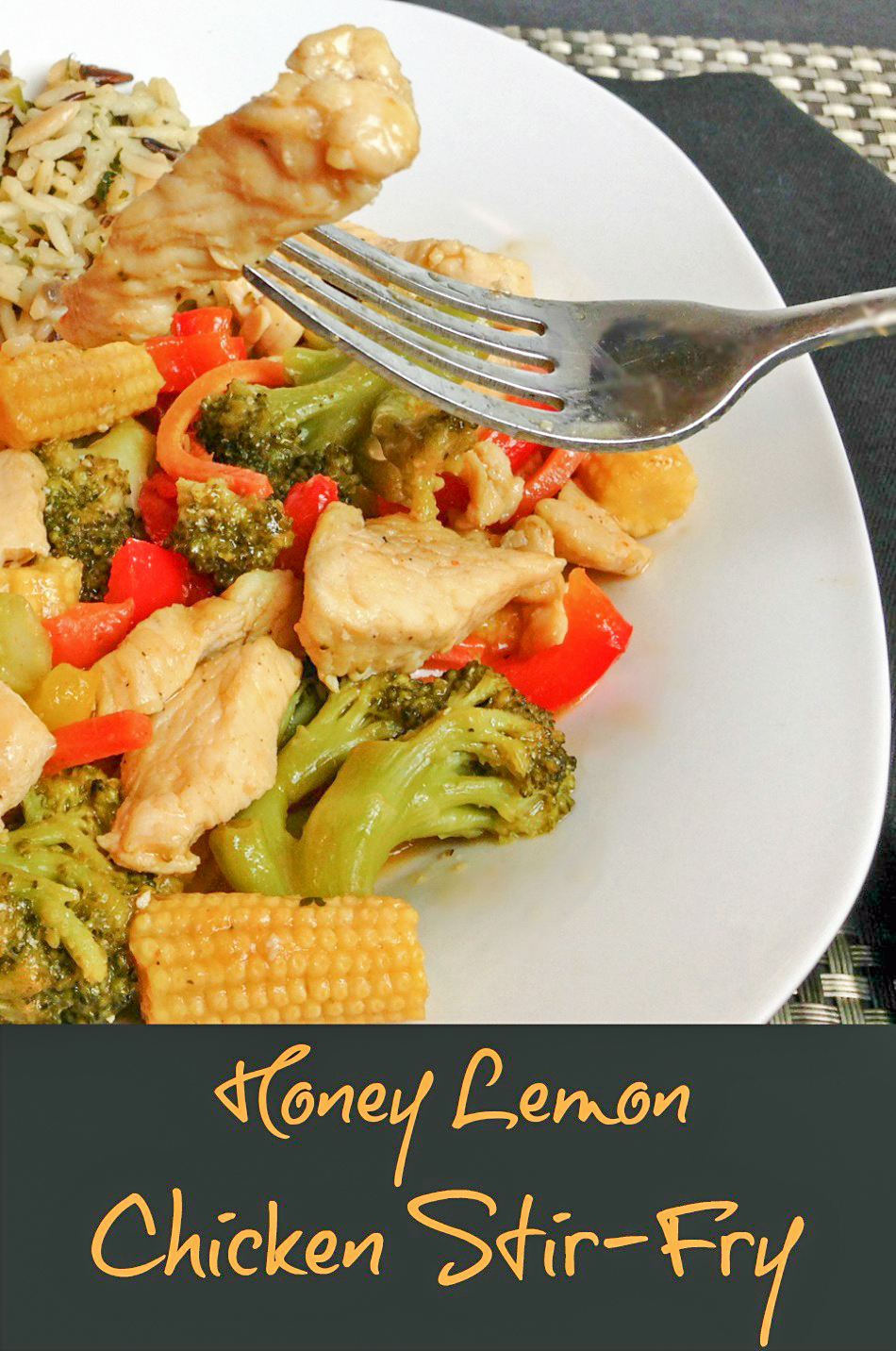 Honey Lemon Chicken Stir Fry Recipe - Powered By Mom