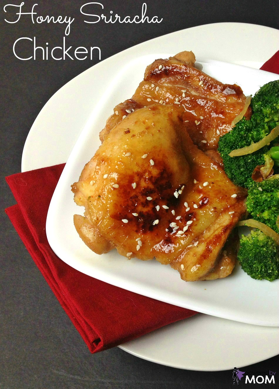Honey Sriracha Chicken banner 1