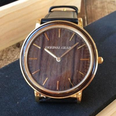 Original Grain Minimalist Watch for a Sleek, Elegant Timepiece