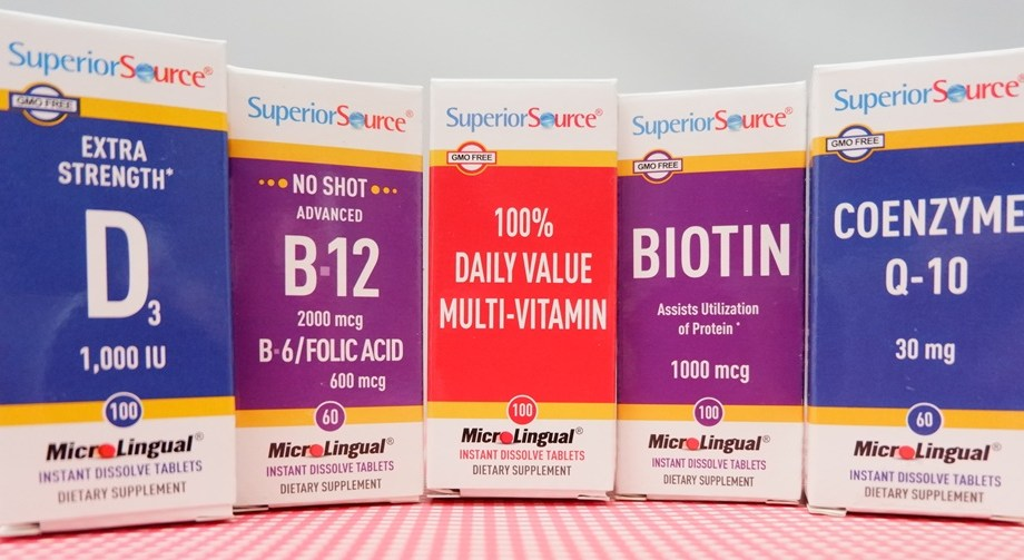 Say I Love You with Superior Source Vitamins
