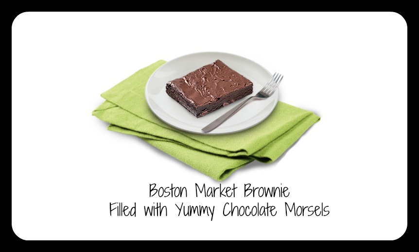 boston market brownie