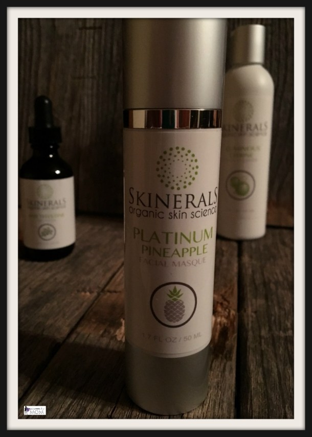 skinerals facial masque