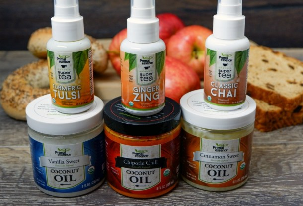 Primal Essence infused coconut oils and super teas