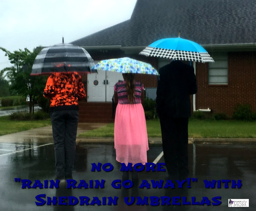 ShedRain Umbrellas Keep you Dry