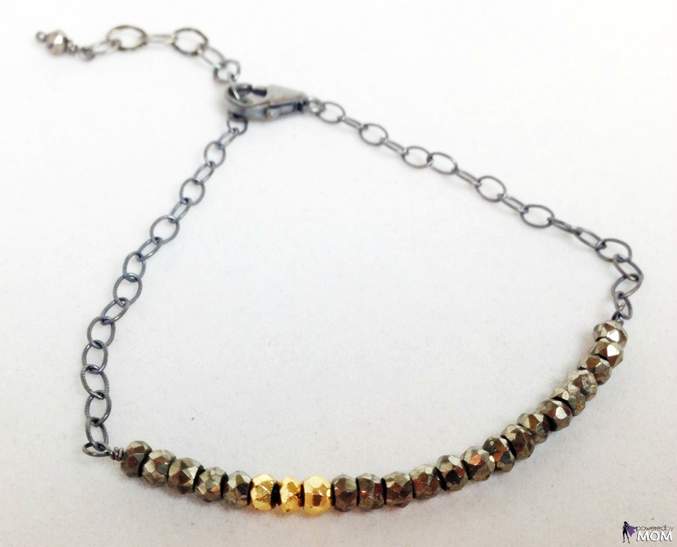 Isabelle Grace - Dark Pyrite Bracelet