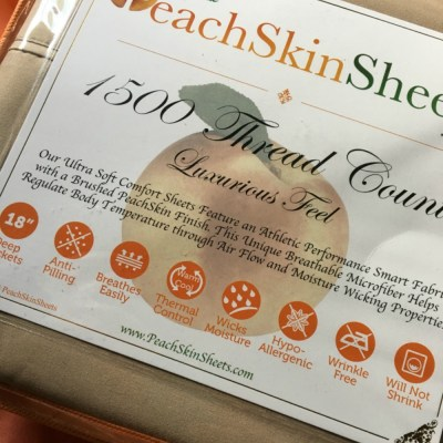 Luxurious PeachSkinSheets are Simply Dreamy