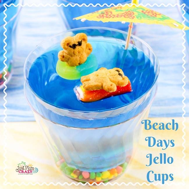 Beach Days Jello Cups