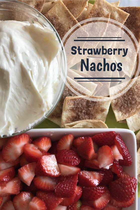 strawberry nachos