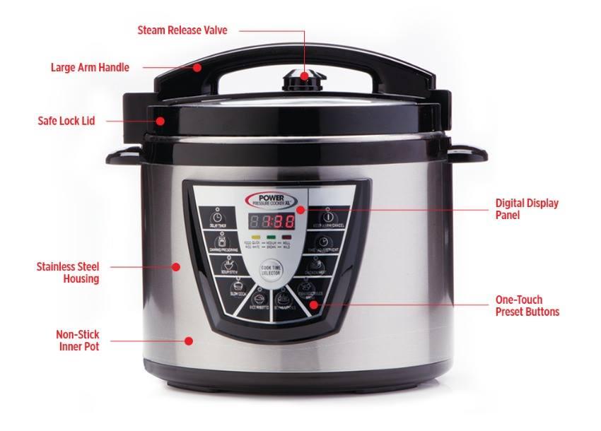 Summer Power Pressure Cooker XL