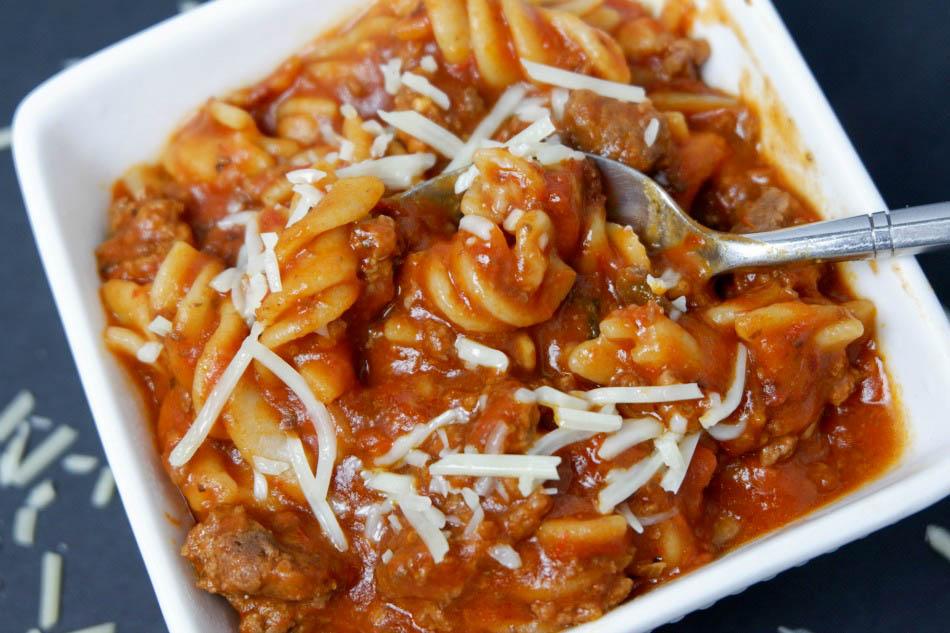 copper chef one pot pasta
