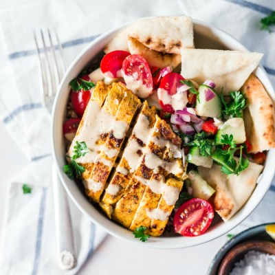Delicious Chicken Shawarma Bowl Recipe