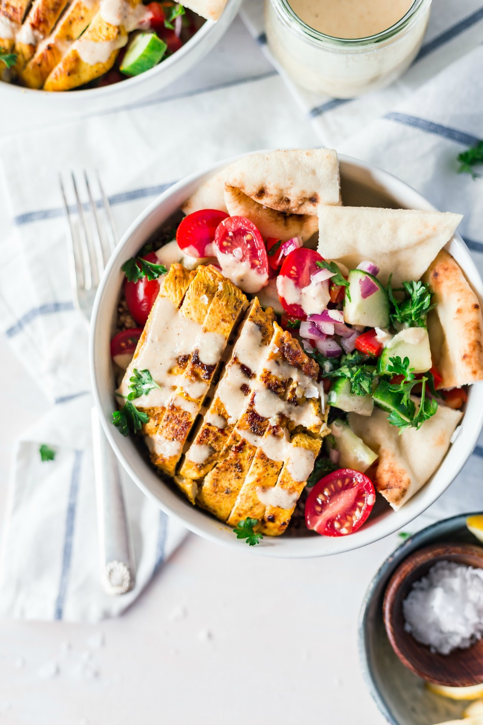 Chicken Shawarma Bowl Recipe