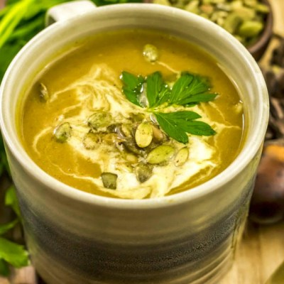 Paleo Butternut Squash Soup Recipe