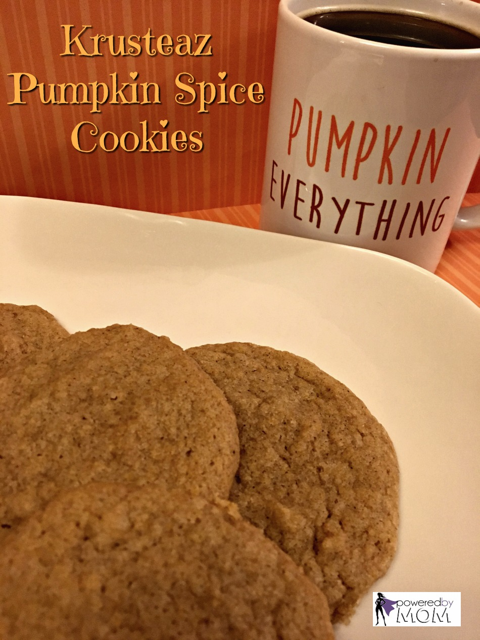 Krusteaz Pumpkin spice cookies