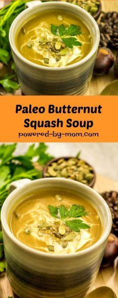 paleo butternut squash soup