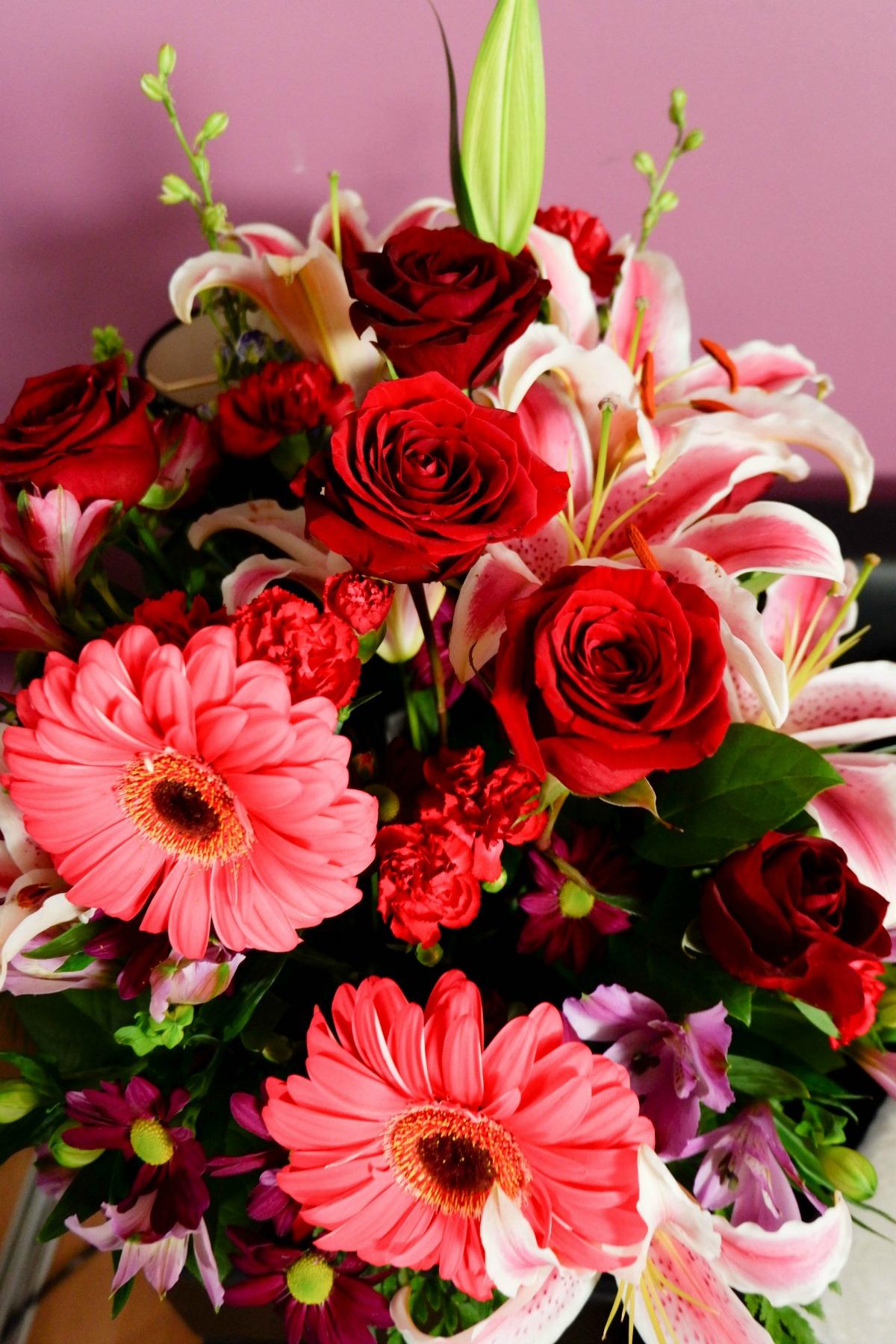 Valentine's flowers - bouquet