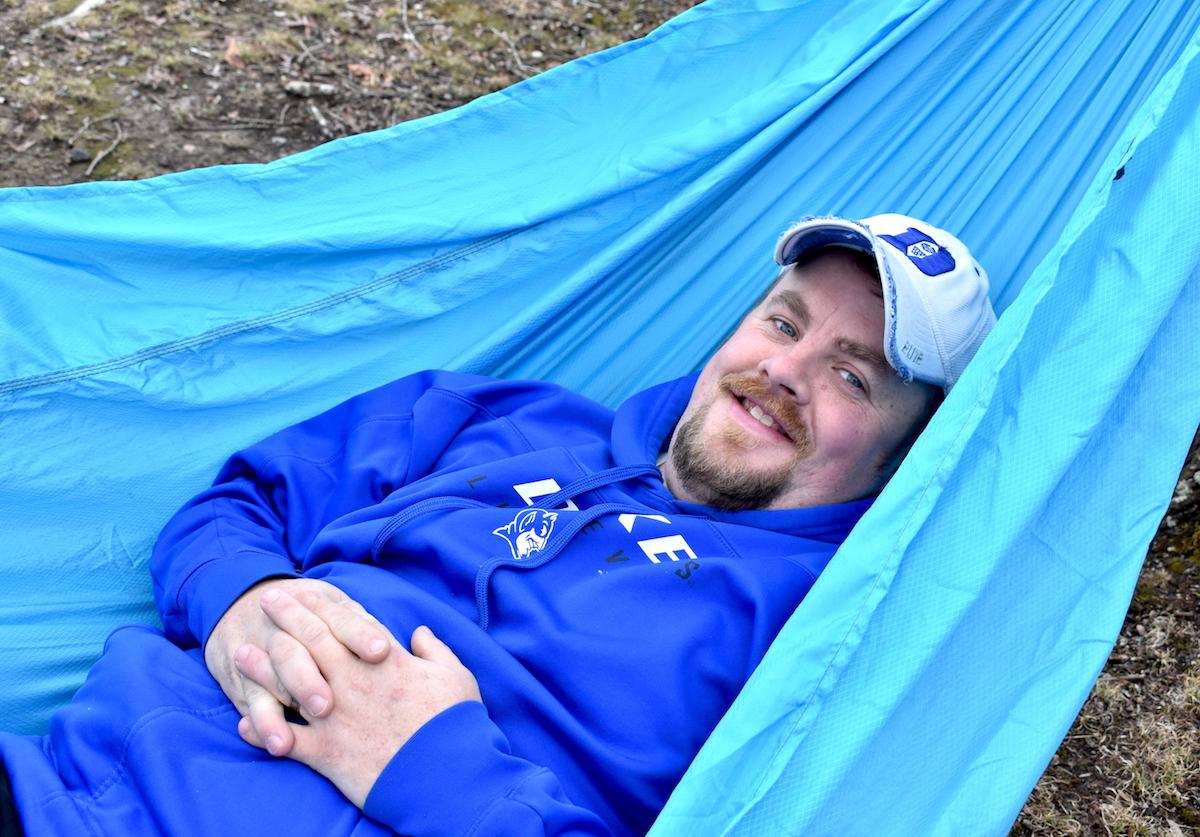 outdoor camping hammock