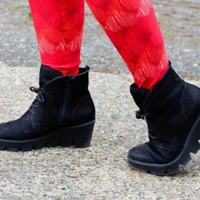 Waldlaufer Women's Effie Wedge Ankle Boot