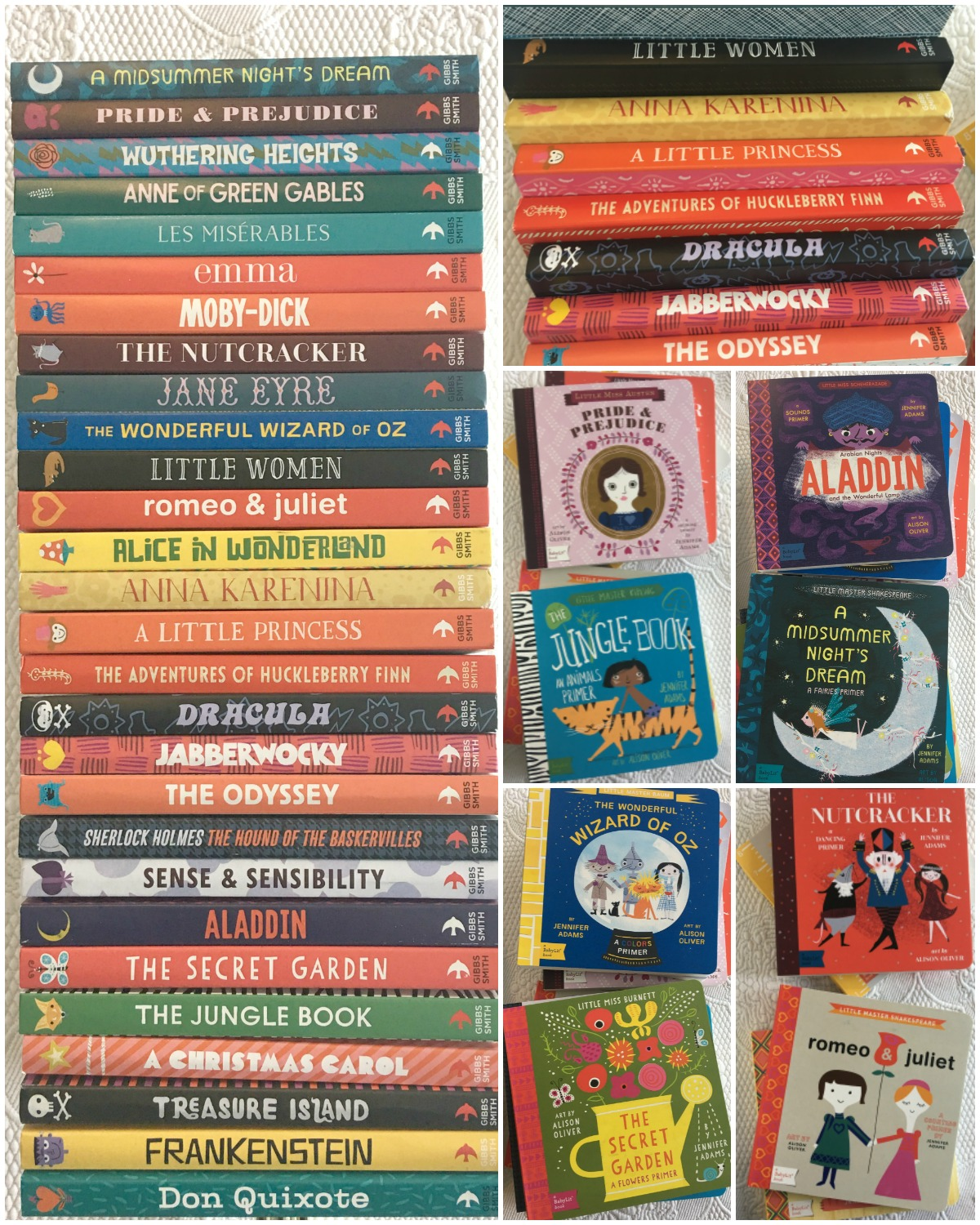 Encourage Kid's Love of Reading with these Classic Books by BabyLit - Powered by Mom