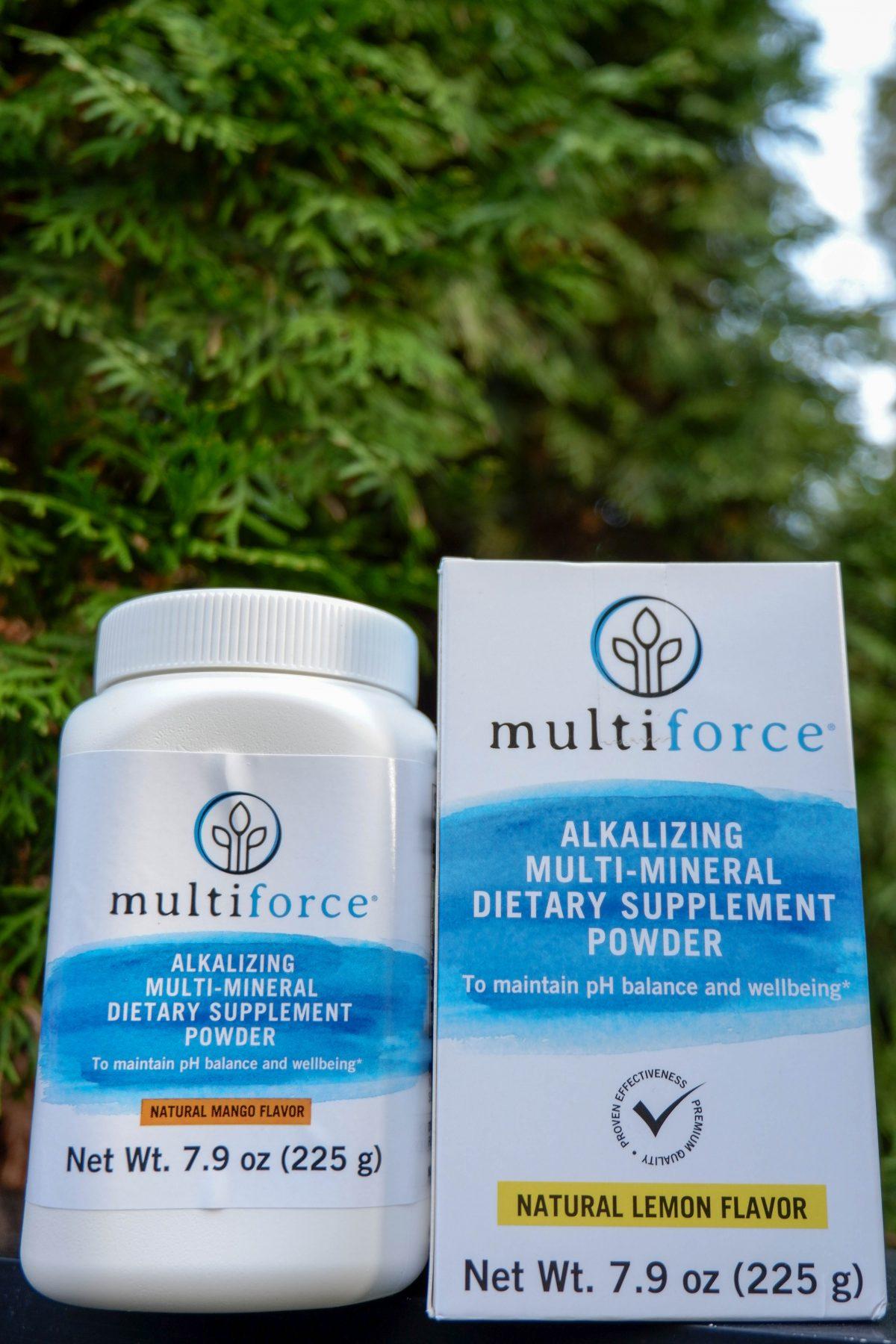 Multiforce Alkalizer - Alkaline Powder