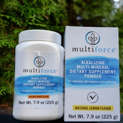 Reduce Acidity with Multiforce Alkaline Powder