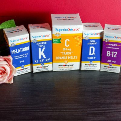 Superior Source Vitamins Stress Less for Health for this Season