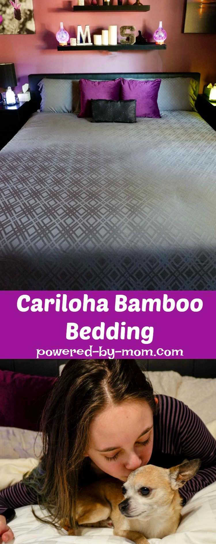 Cariloha Bamboo Bedding is pure luxury. The softest bedding on the planet.