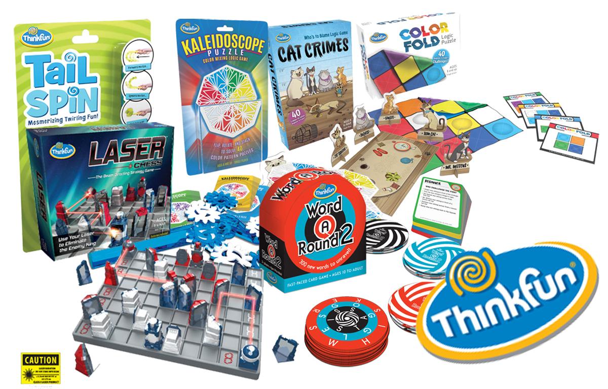 ThinkFun Logic Games for Kids