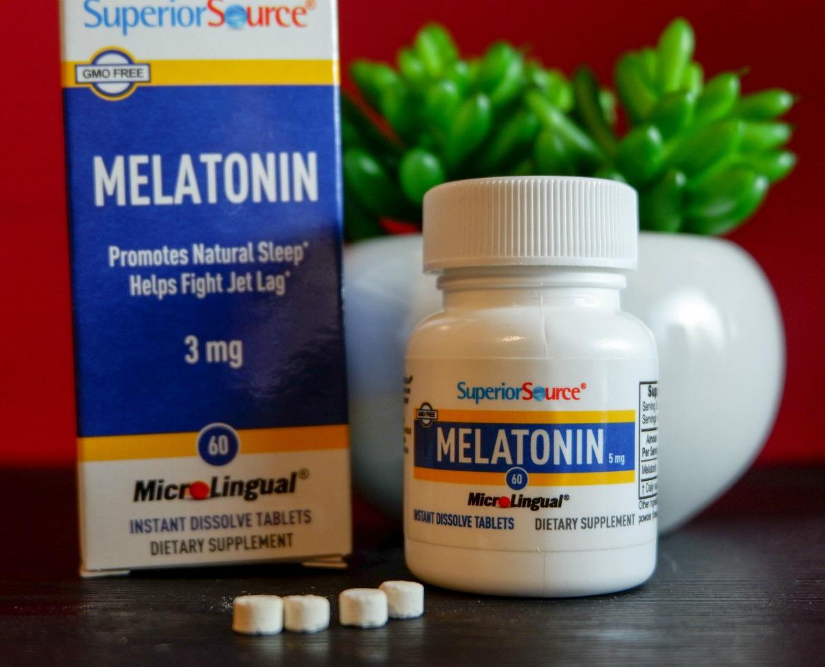 Superior Source Vitamins melatonin