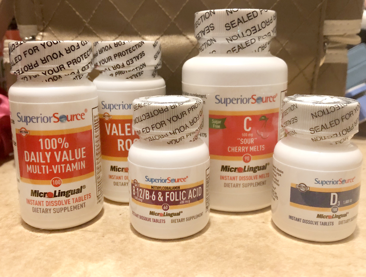 Essential Nutrition Superior Source Vitamins