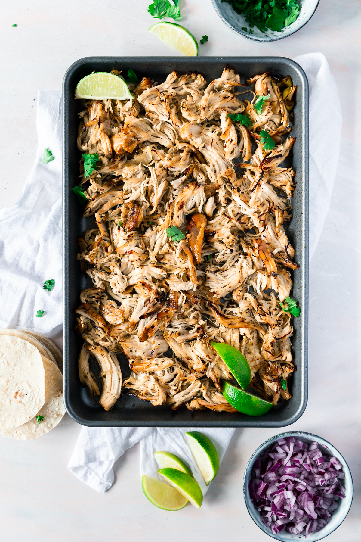 instant pot chicken carnitas - slow cooker option too