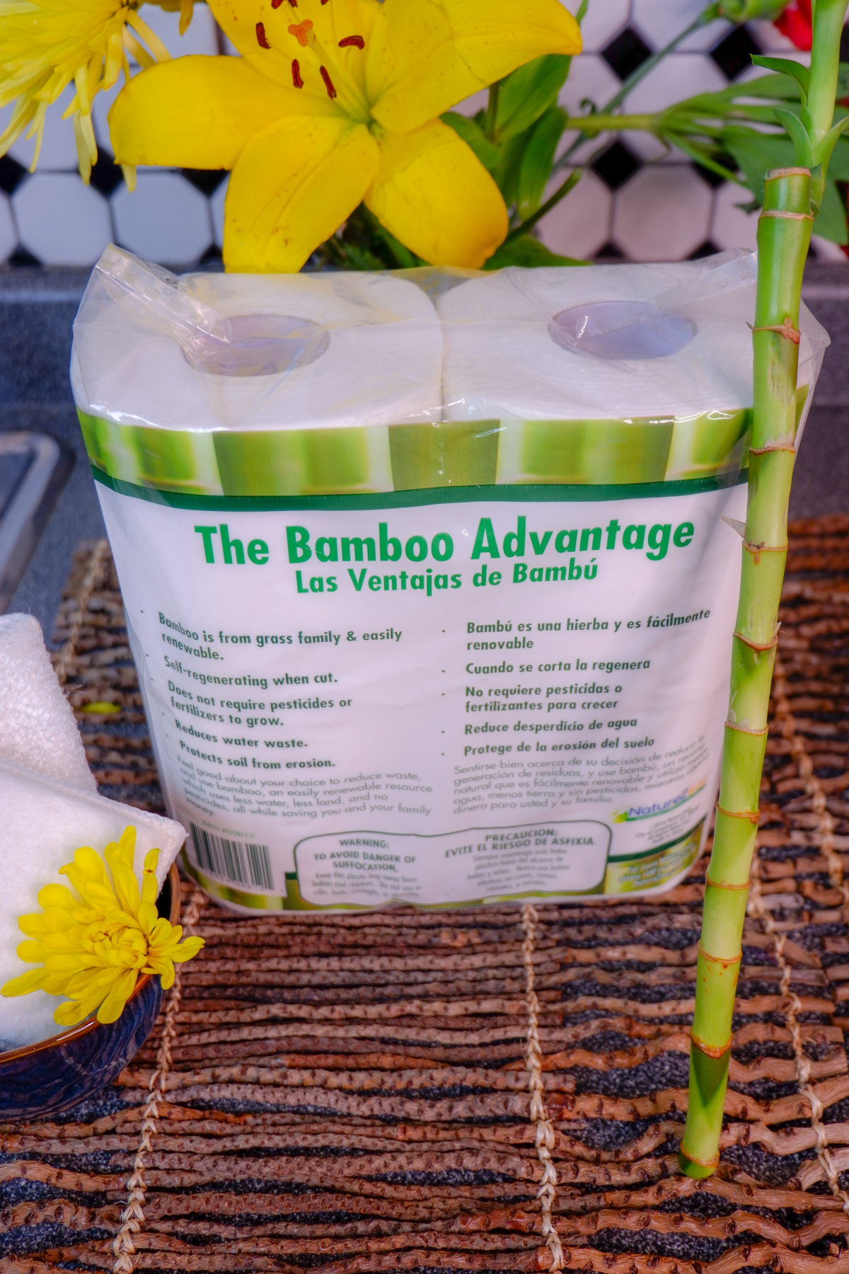 bamboo paper towels, eco-friendly