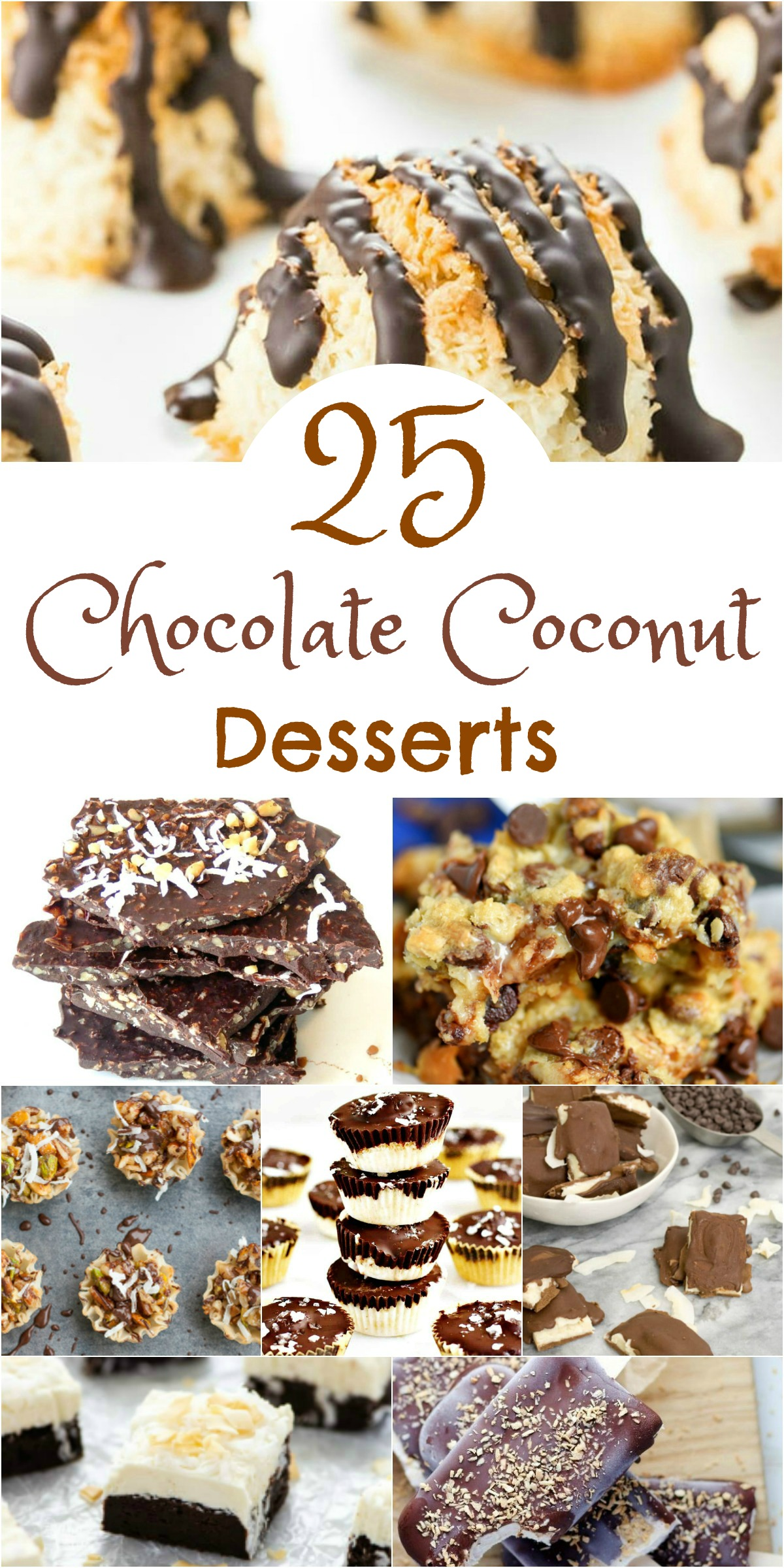 25 Chocolate Coconut Desserts that will Make you Drool!