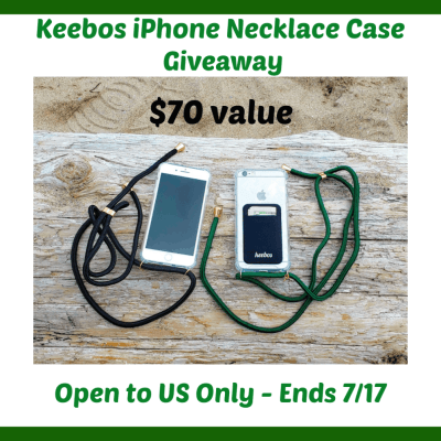 Keebos iPhone Necklace Cases