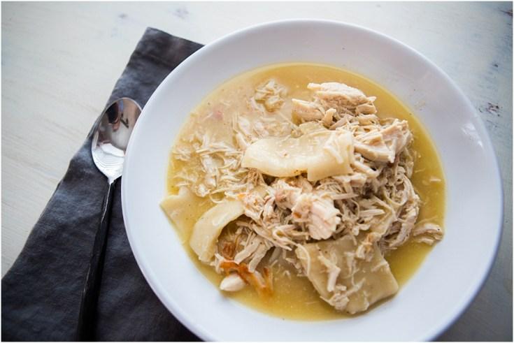 4 Ingredient Instant Pot Chicken and Dumplings