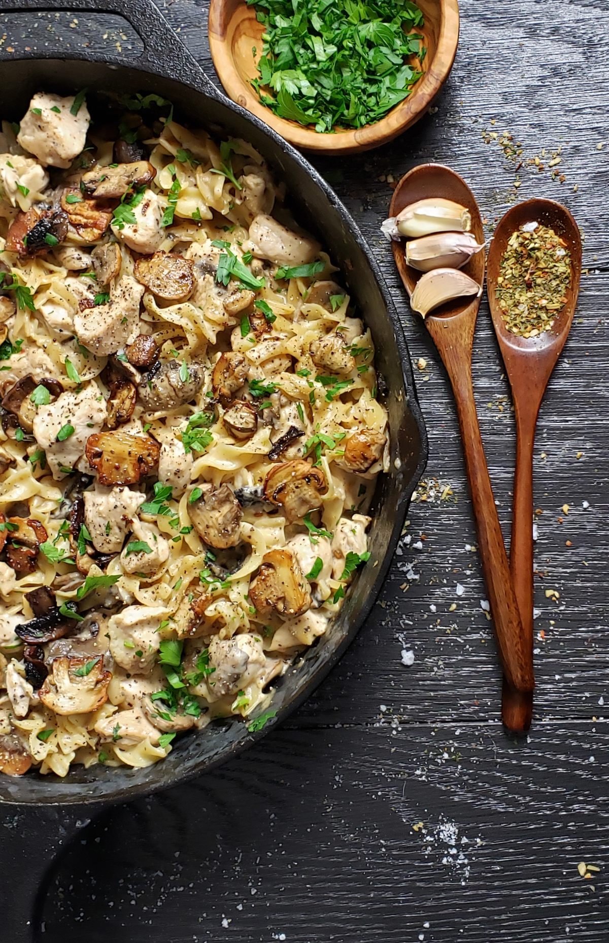 One Pan Chicken Stroganoff Recipe