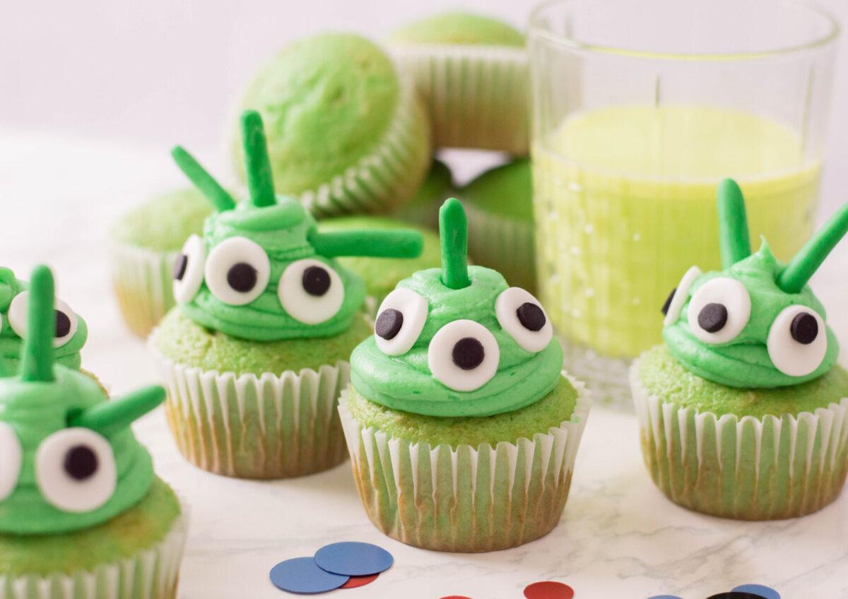 Fun and Easy Alien Cupcakes Recipe