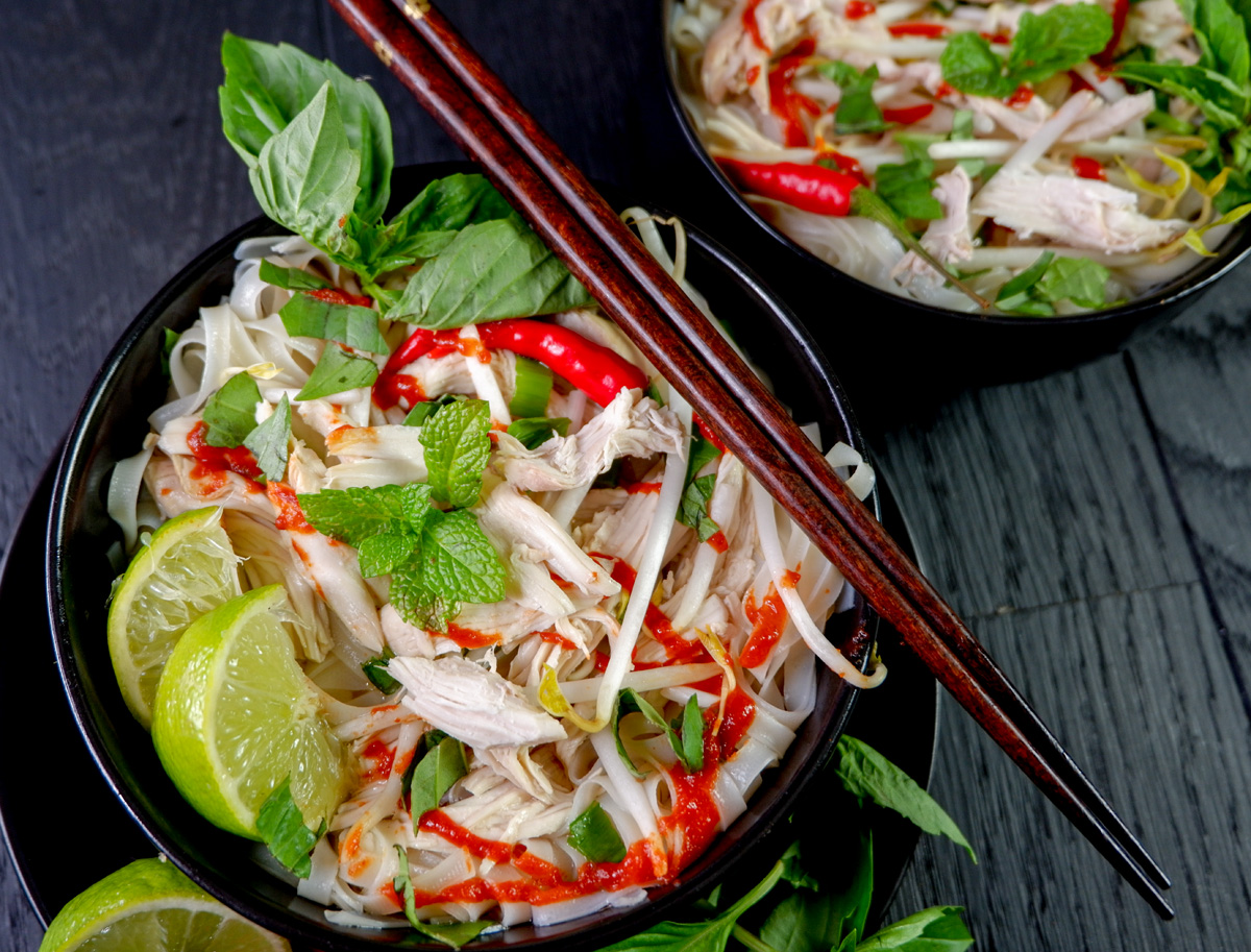 Vietnamese pho ga recipe