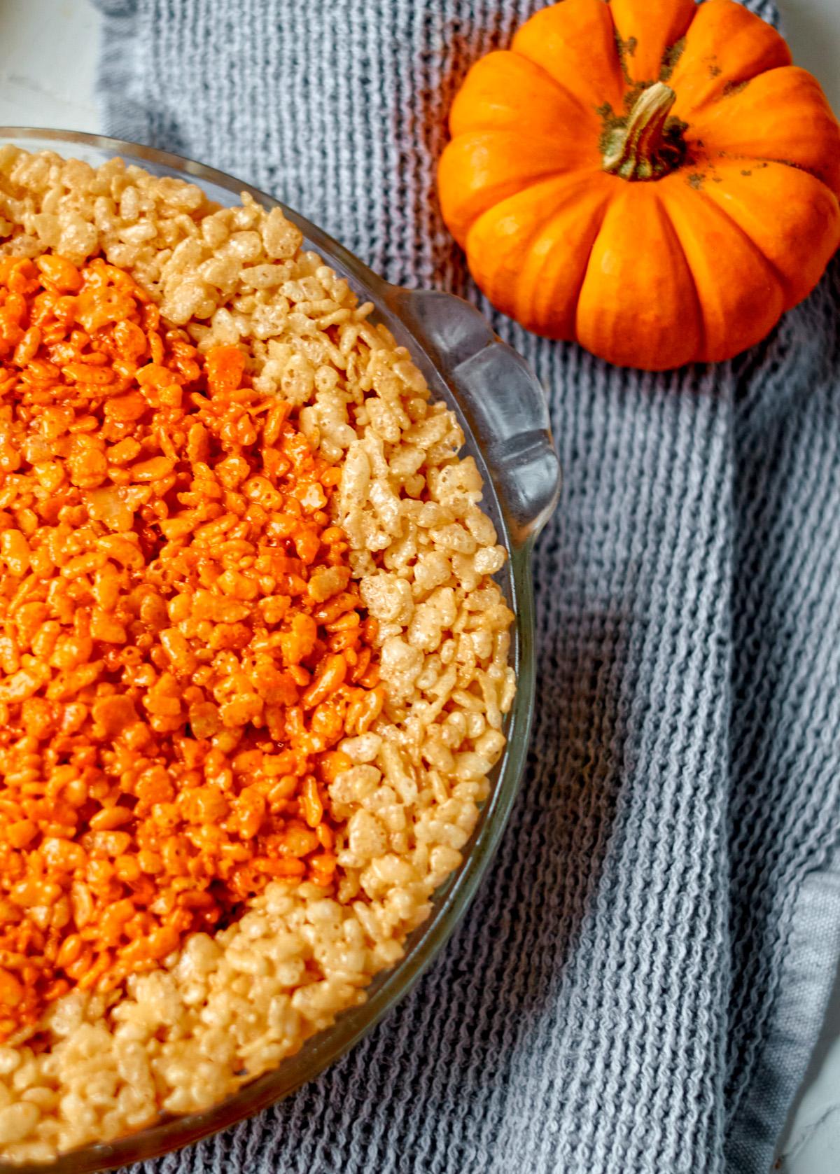 thanksgiving rice krispies