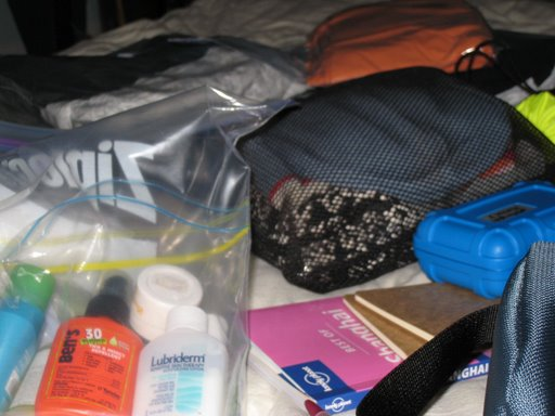 packing for rtw trip