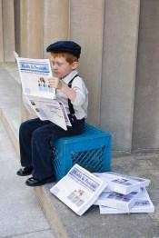newsboy-reading