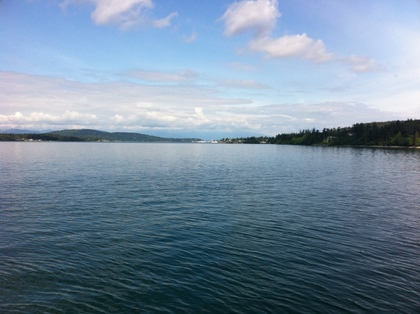 ferry to San Juan Islands