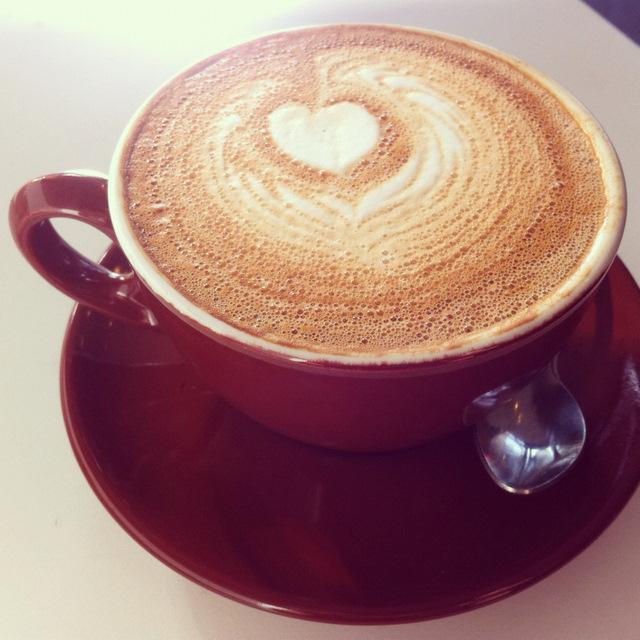 barista latte Portland