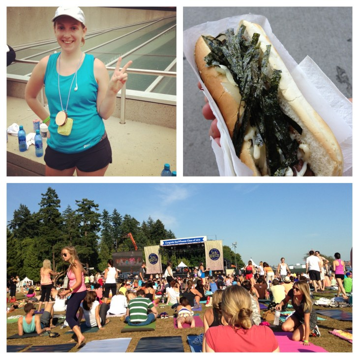 SeaWheeze Half Marathon day
