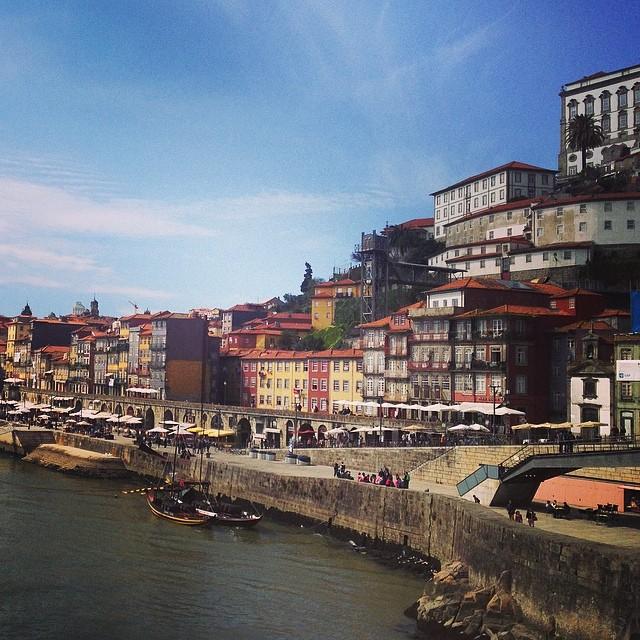 Porto, Portugal from the bridge