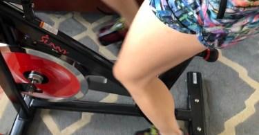 Spinning at home, DIY peloton bike setup
