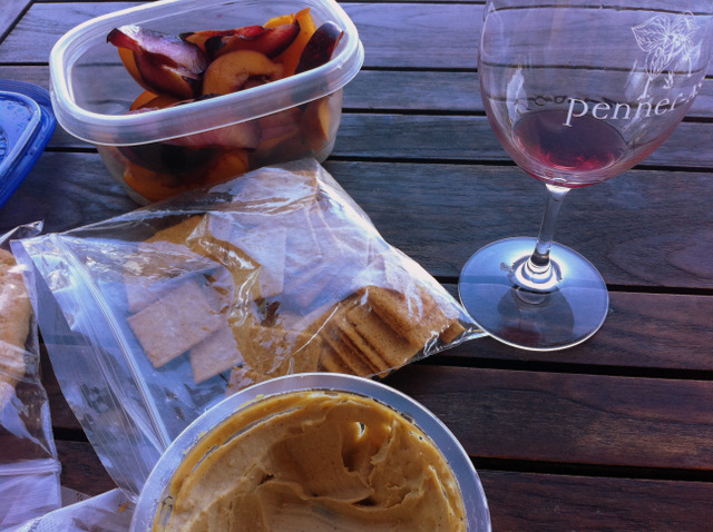 wine tasting picnic!