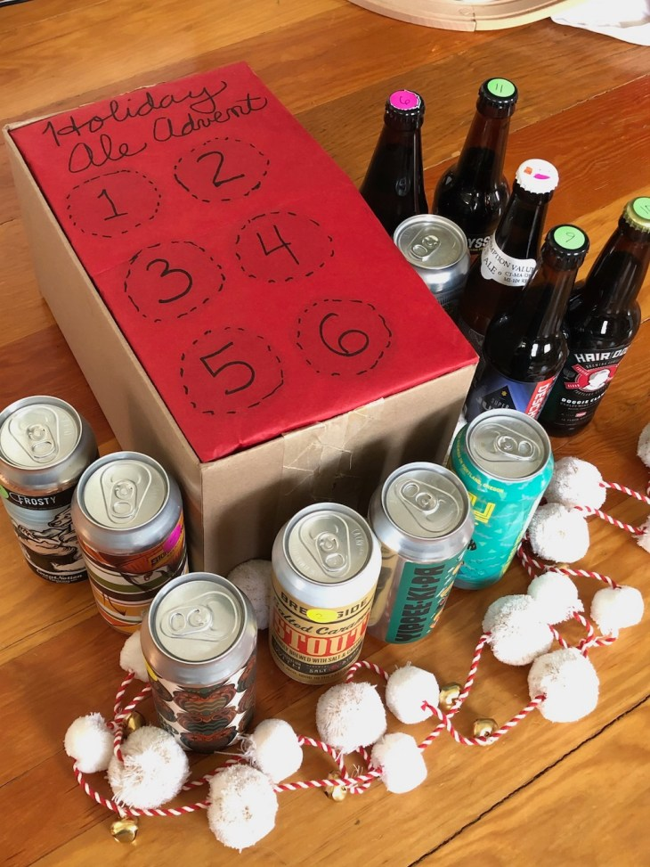 Beer Advent calendar - Holiday ale advent box and beers