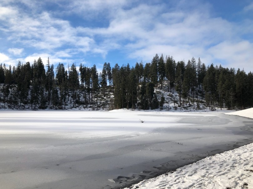 winter in Oregon